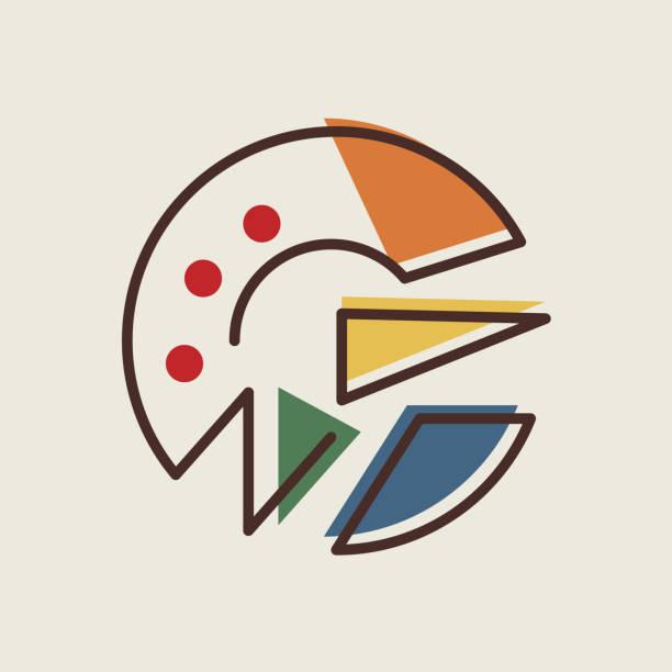 letter vector art illustration