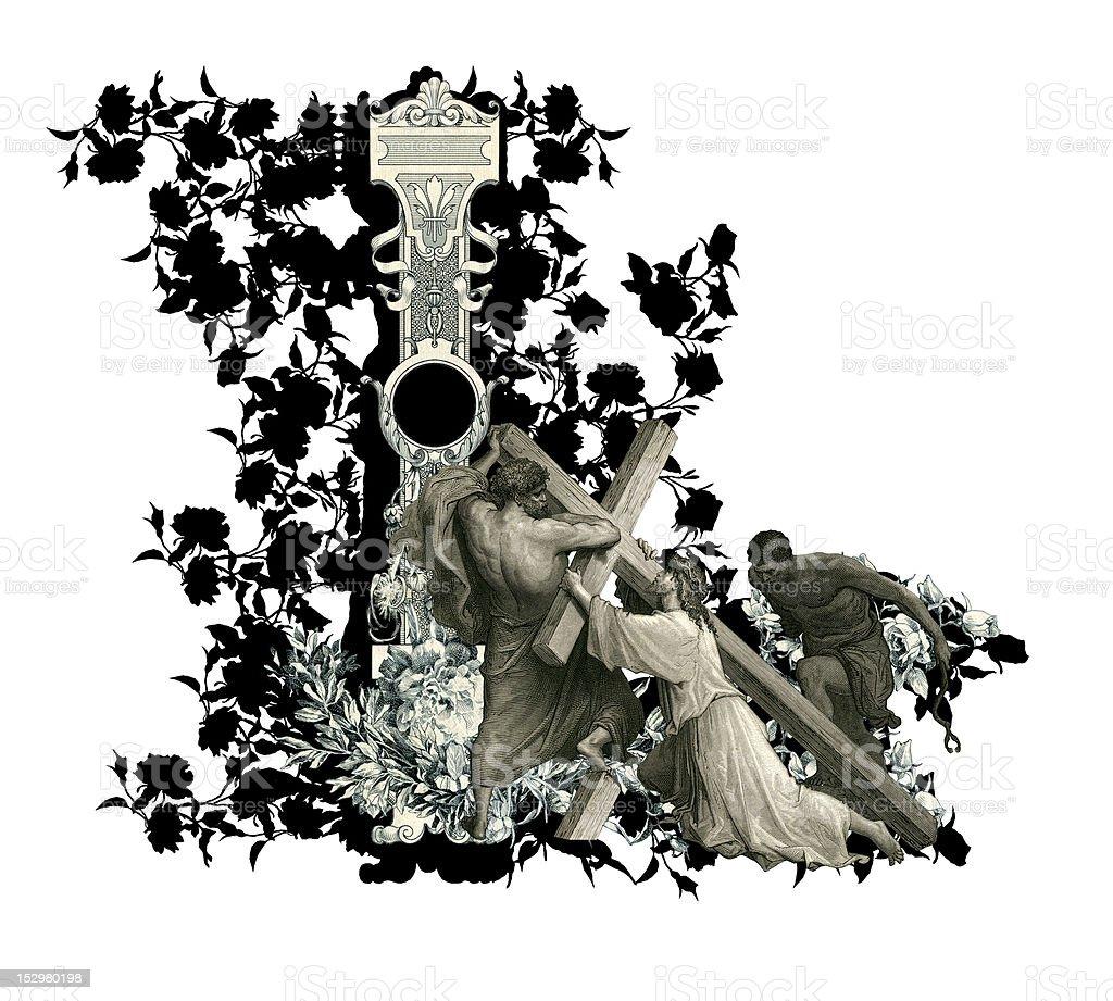 Letter L. royalty-free stock vector art