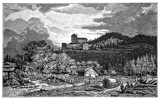 Lichtenberg Castle , also called Lichtenberg Castle , a former nursing court , is a castle in Saalfelden , a municipality in the Austrian province of Salzburg