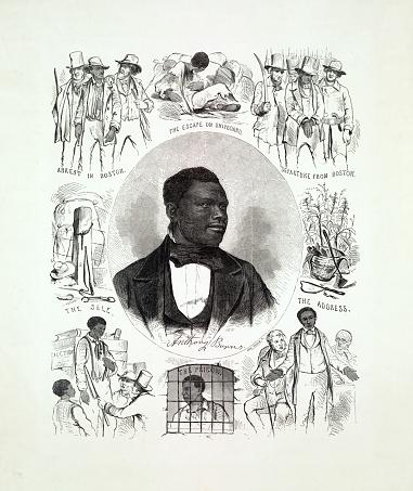 Life and Portrait of Fugitive Slave Anthony Burns