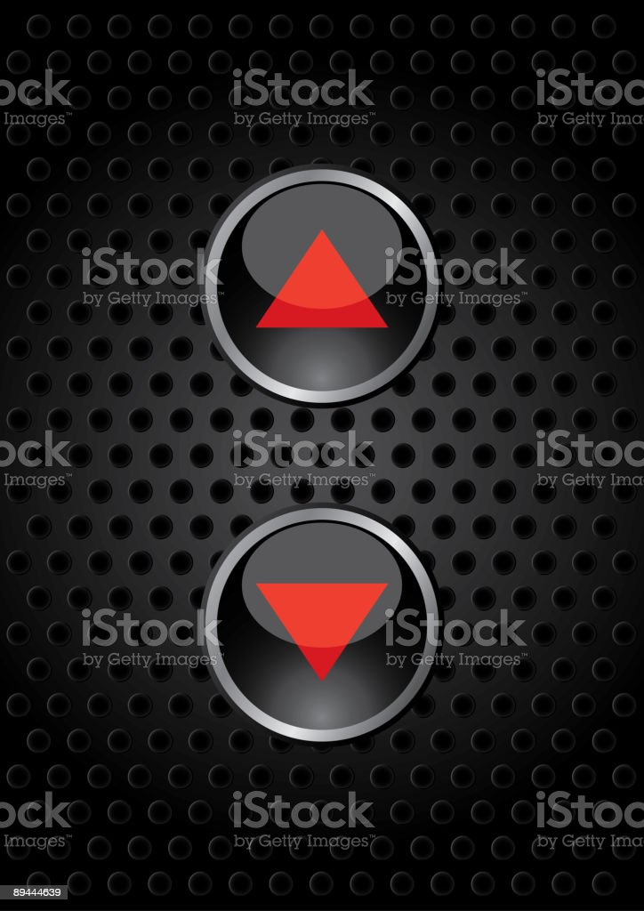 Lift button royalty-free lift button stock vector art & more images of arrow symbol