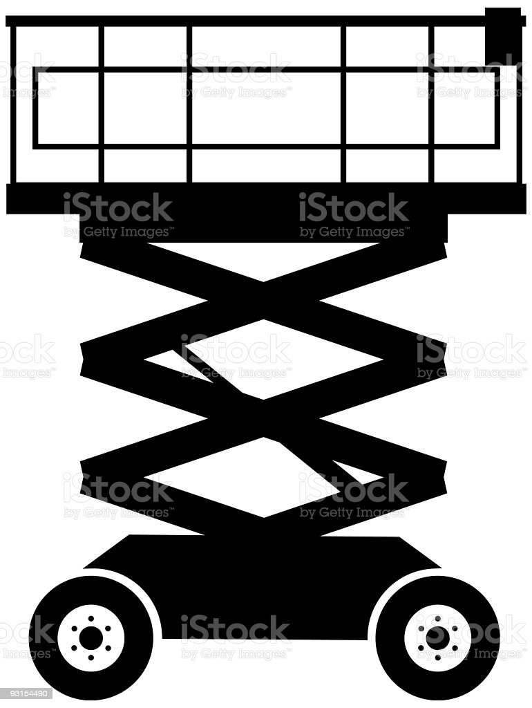 Lift (vector) royalty-free stock vector art