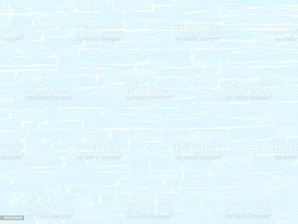 Light blue abstract background of stone wall vector art illustration