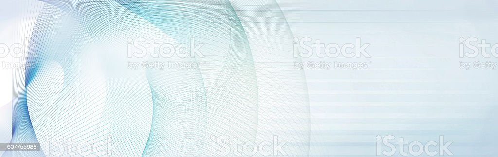 light blue and gray motion lines on white background - Illustration vectorielle