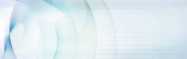 light blue and gray motion lines on white background – Vektorgrafik