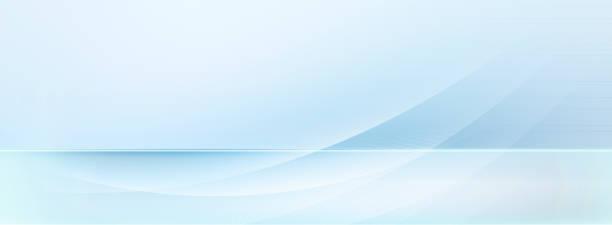 hellblaue und weiße Bewegungslinien auf verschwommenem hellblauem Hintergrund – Vektorgrafik