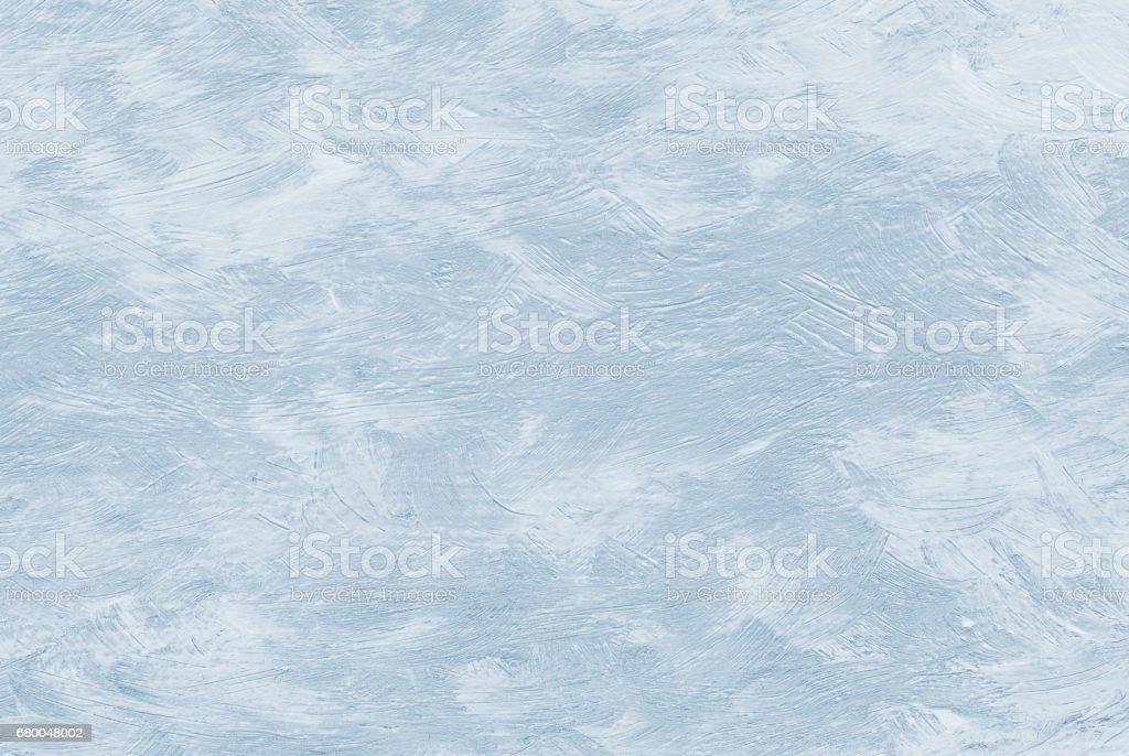 Light blue cloud sky abstract oil painting background with brush strokes on canvas. vector art illustration