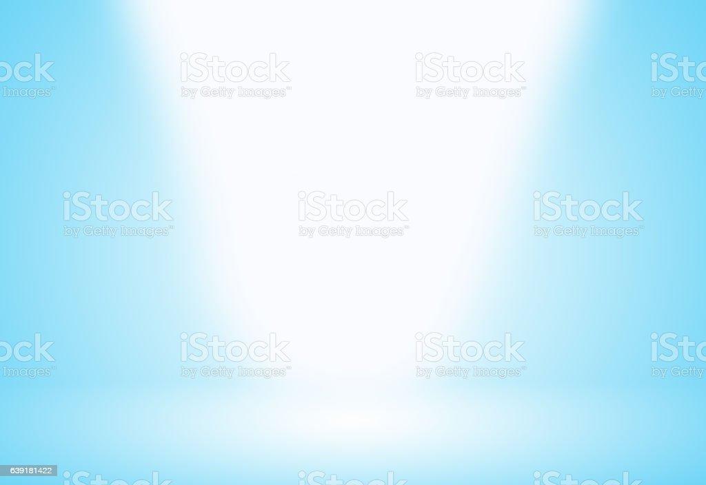 Light blue gradient abstract background. vector art illustration