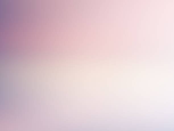 ilustrações de stock, clip art, desenhos animados e ícones de light blurred background. soft pale pink, violet, white gradient. color transition. delicate abstract design. nice elegant foggy dreamy image with text place - focagem no primeiro plano