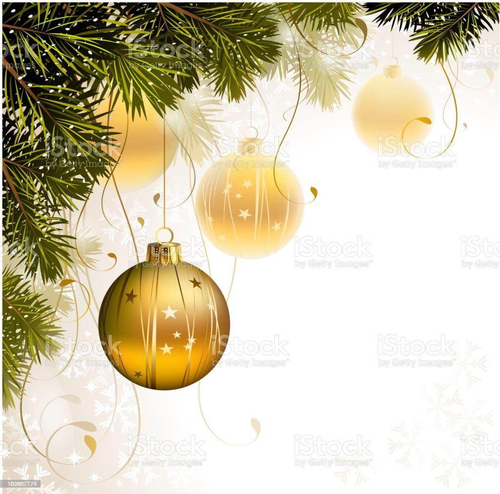 light Christmas background royalty-free stock vector art