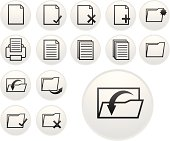light document icons