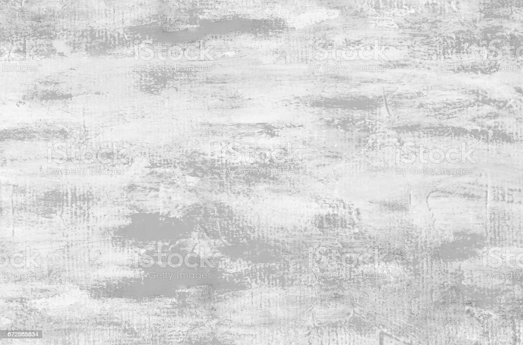 Light gray abstract oil paint background. Palette knife oil paint. vector art illustration
