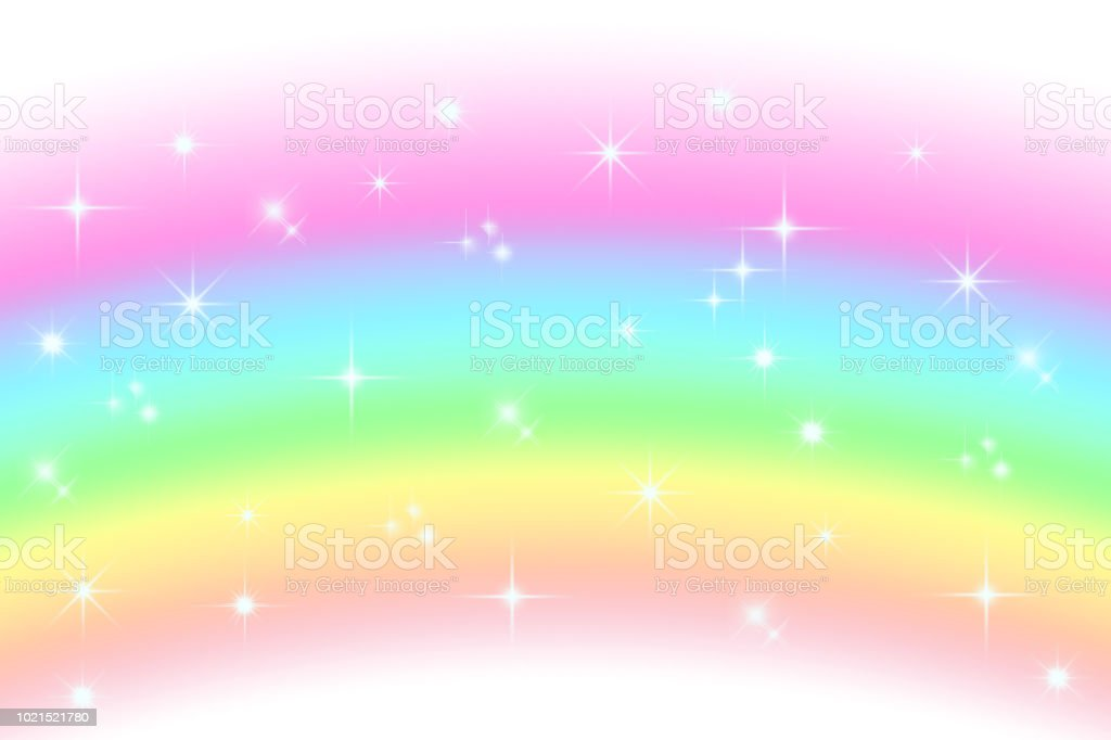 Rainbow Notes On Light Background Stock: Light Rainbow Background Stock Vector Art & More Images Of