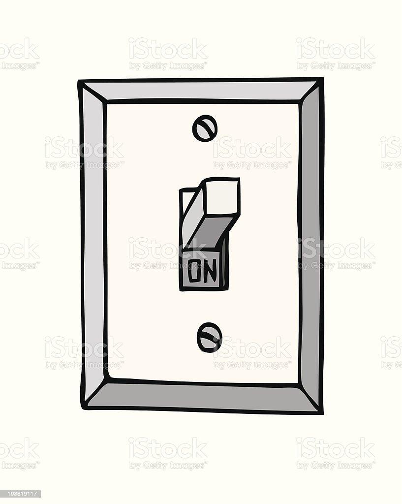 light switch clipart. light switch vector art illustration clipart r