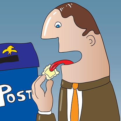 liking post stamp