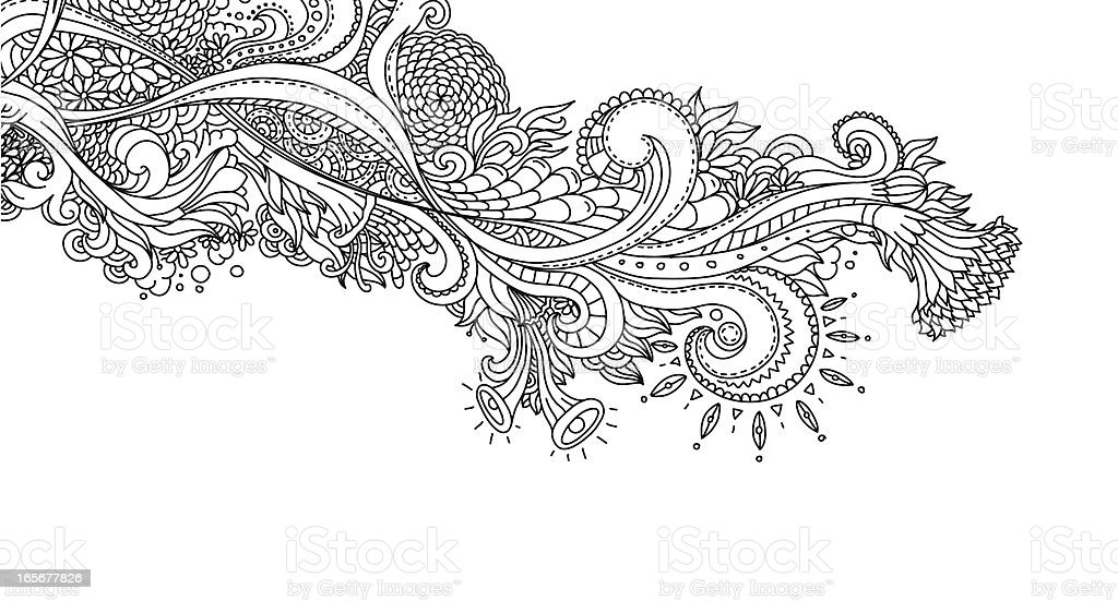 New Line Art Design : Line art design stock vector istock