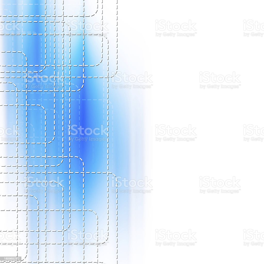 Line with DOT abstract design royalty-free line with dot abstract design stock vector art & more images of abstract