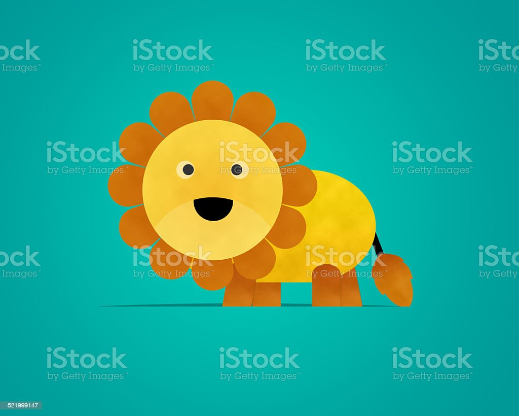 Lion Paper Clipart Stock Illustration Download Image Now Istock