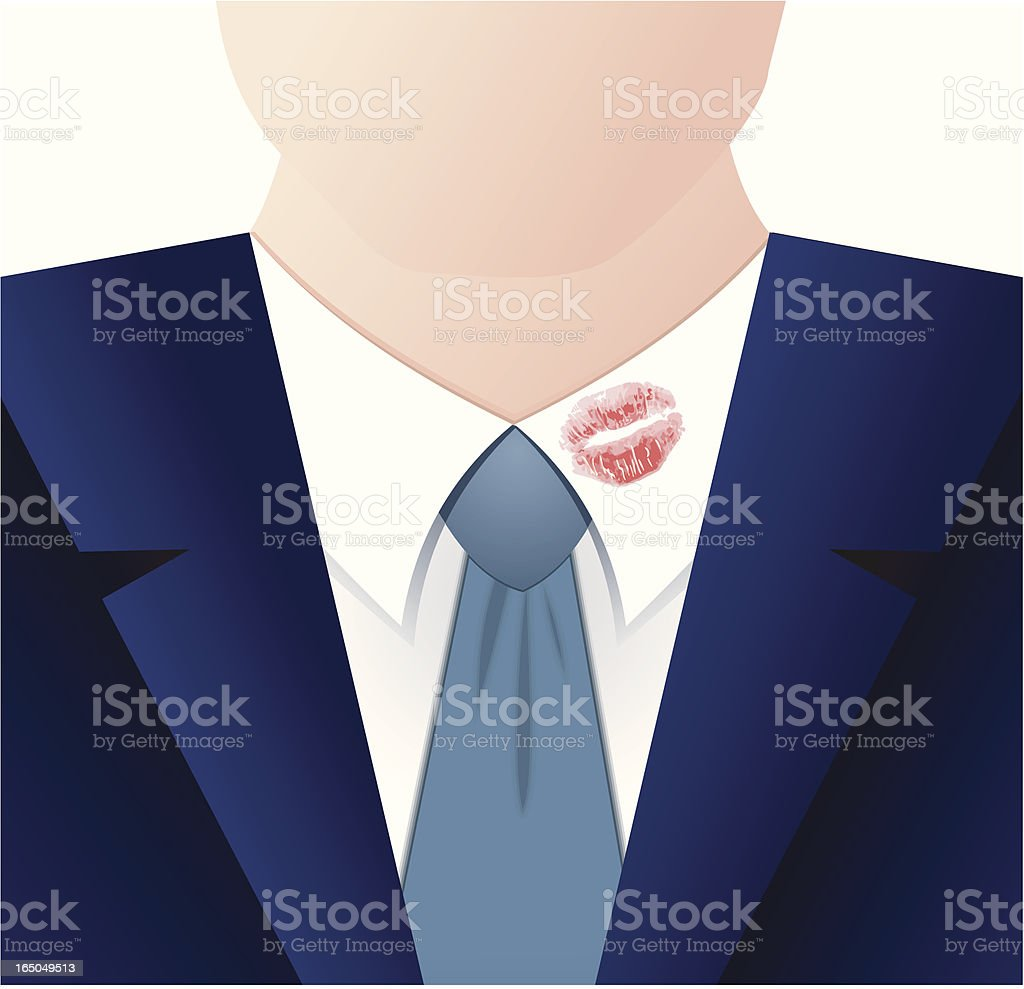 Lipstick on your collar royalty-free lipstick on your collar stock vector art & more images of adult