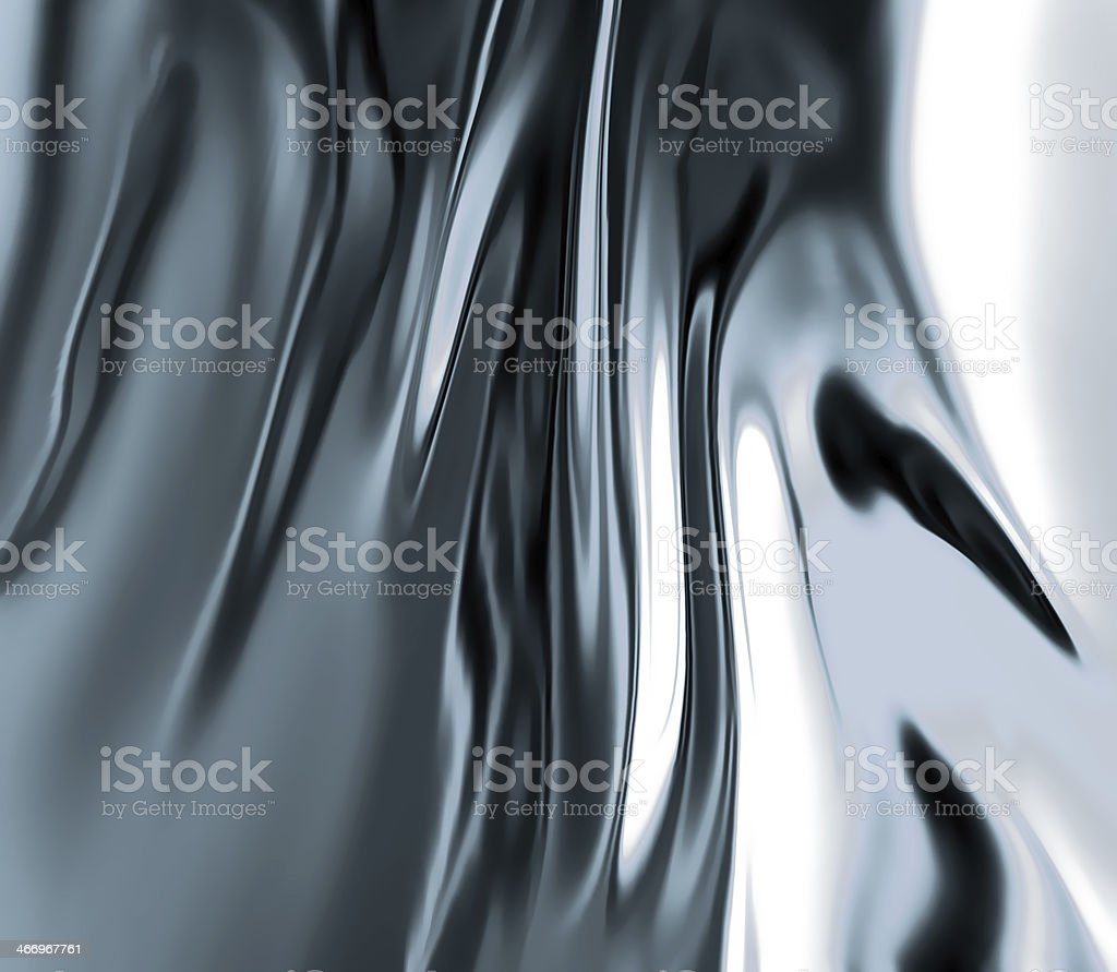 liquid metal vector art illustration