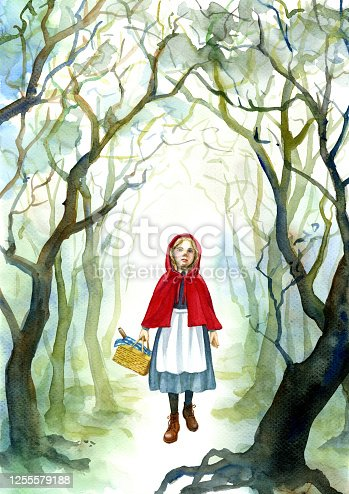 istock A Little Red Riding Hood 1255579188