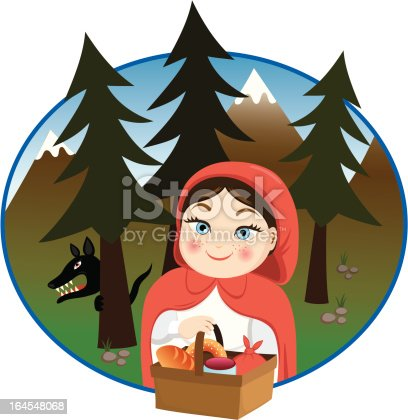 istock Little Red Riding Hood 164548068