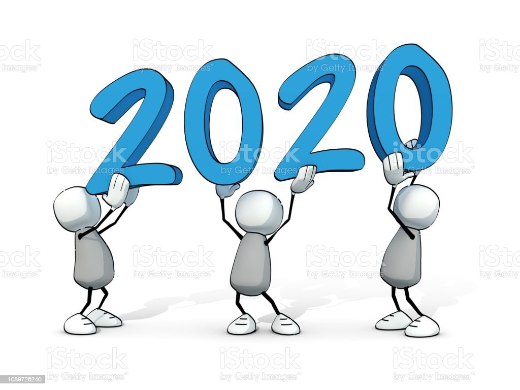 homme peu sommaires - 2020 - Illustration vectorielle