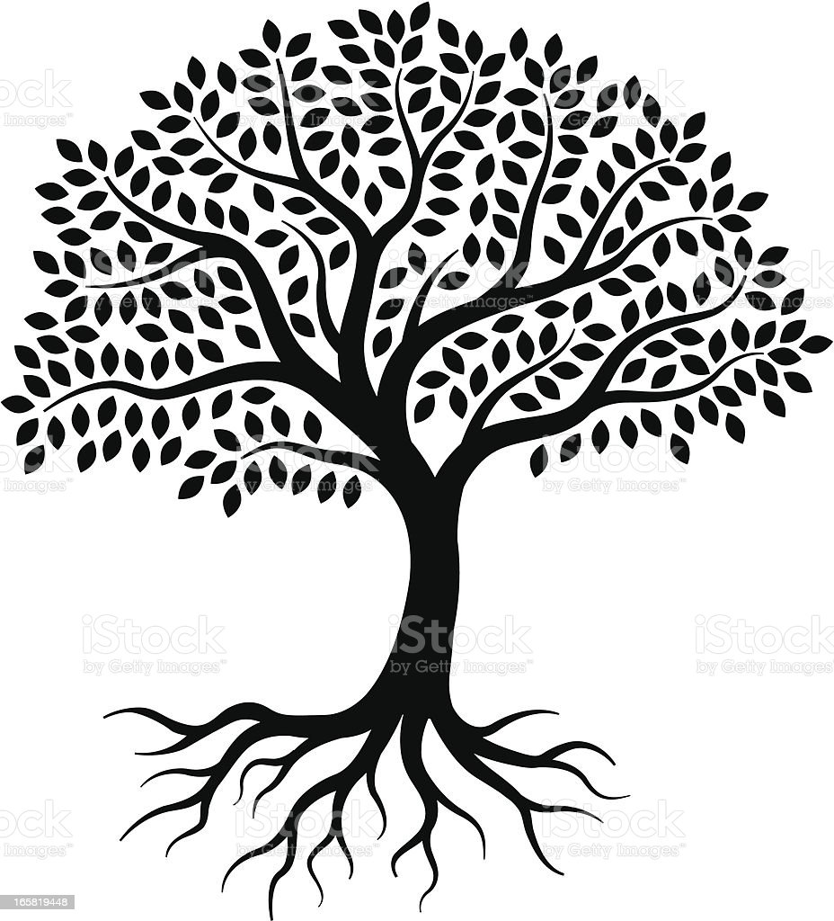 Little Tree Stock Vector Art & More Images of Black And White ...