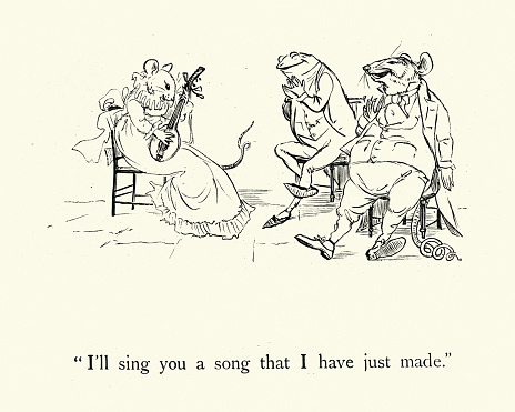 I'll sing you a song that I have just made,  nursery rhyme