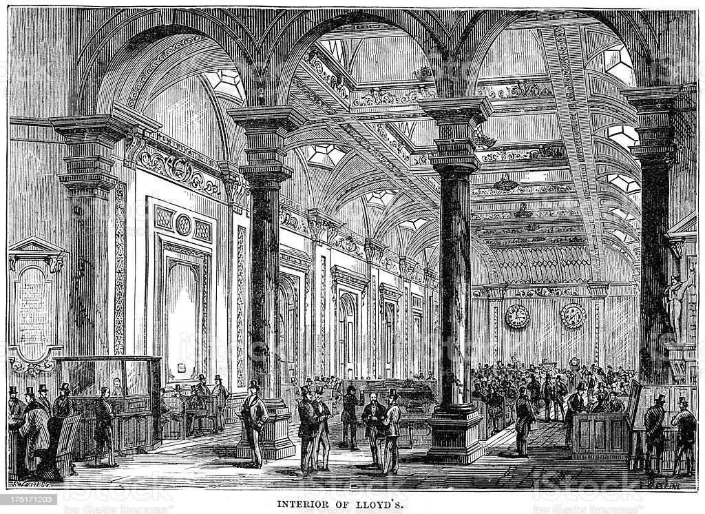 Lloyd's of London royalty-free stock vector art