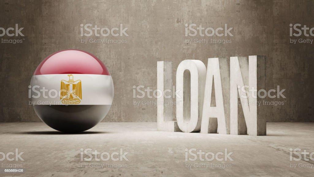 Loan Concept 免版稅 loan concept 向量插圖及更多 中東 圖片