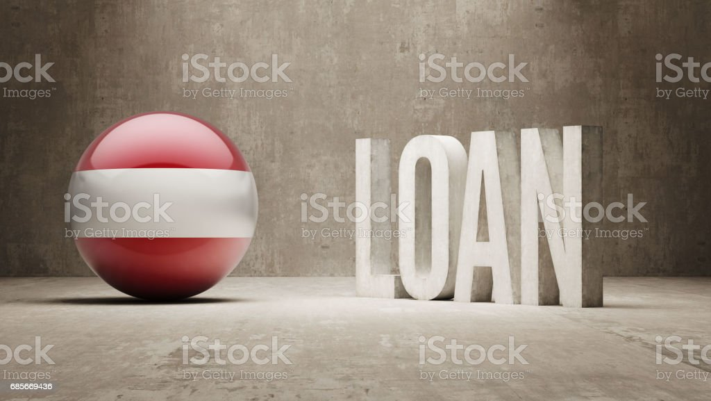 Loan Concept 免版稅 loan concept 向量插圖及更多 儲蓄 圖片