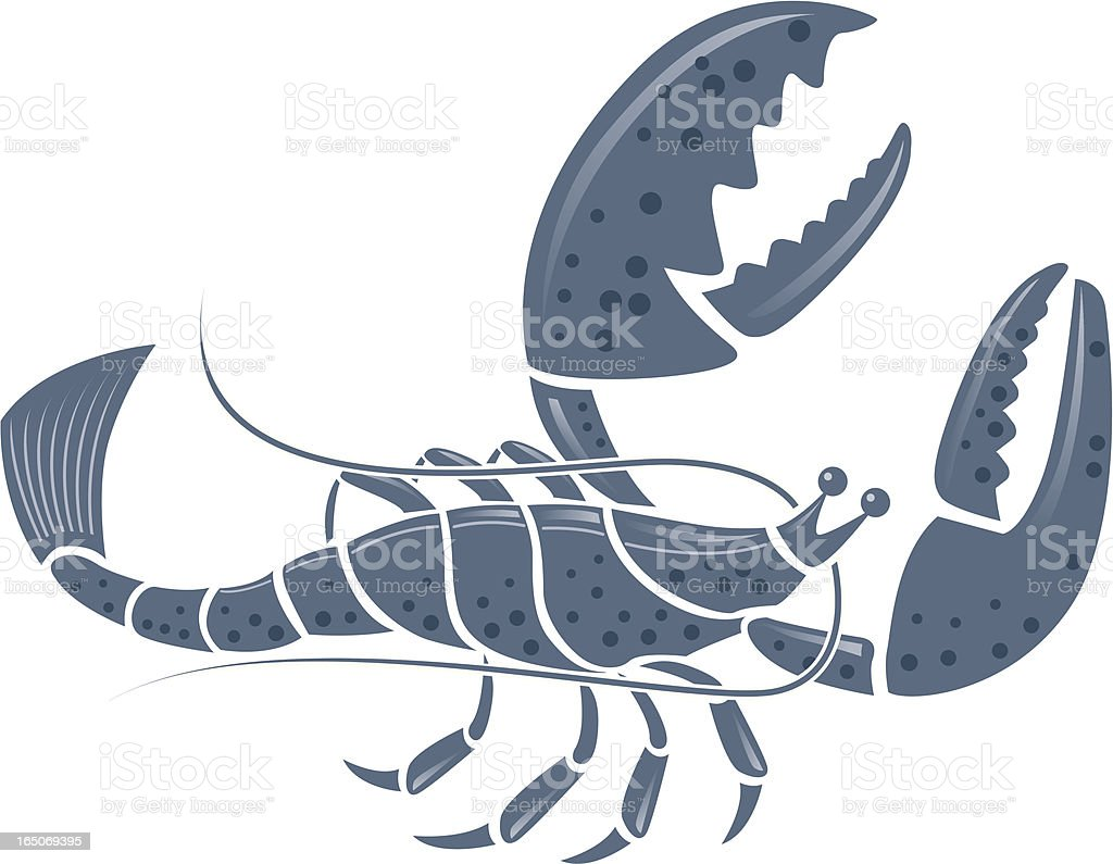 Lobster royalty-free lobster stock vector art & more images of animal