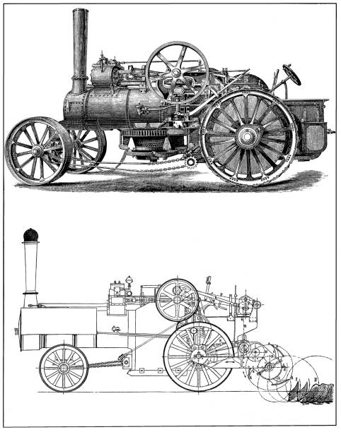 Top 60 Road Going Steam Engine Clip Art, Vector Graphics