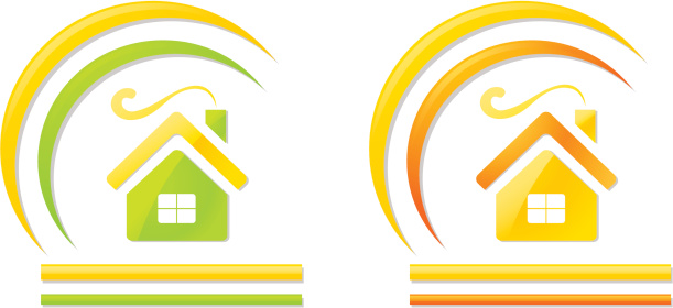 logo,warm house