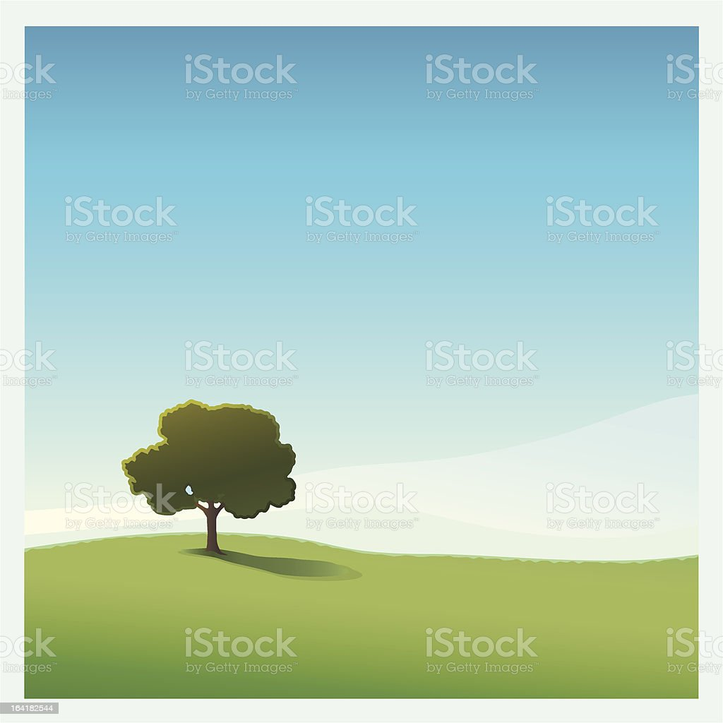 Lone Tree royalty-free lone tree stock vector art & more images of beauty