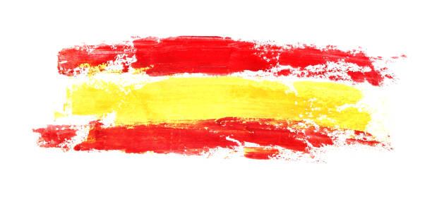 long flag of spain - spanish flag stock illustrations, clip art, cartoons, & icons