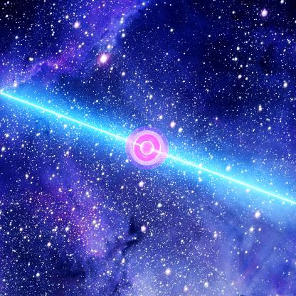 Long Gamma-Ray Burst Of A Pulsar