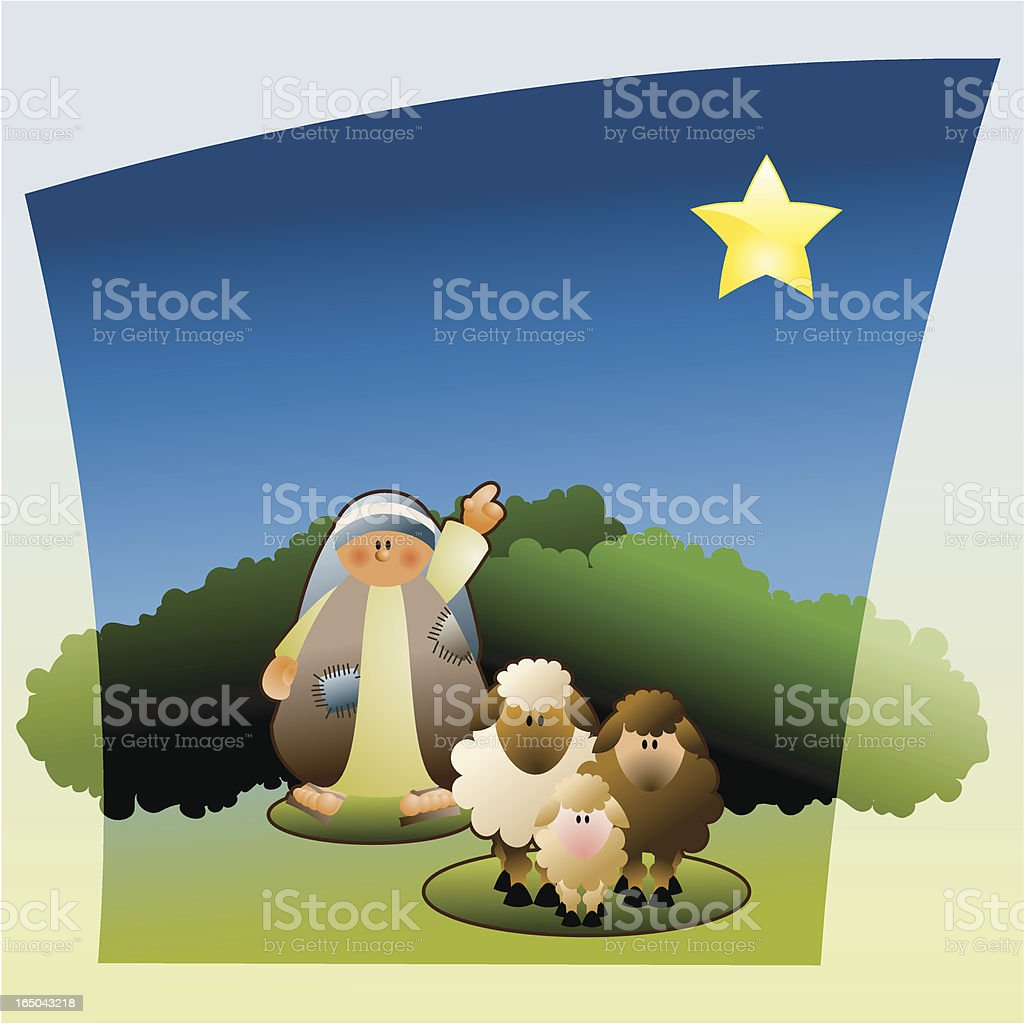 Look a star... royalty-free stock vector art