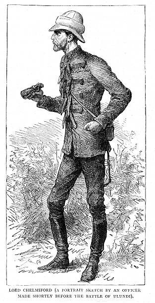 ilustrações, clipart, desenhos animados e ícones de lorde chelmsford - brigadeiro
