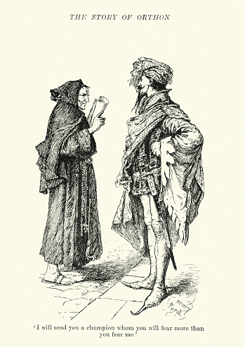 Lord de Corasse and the monk
