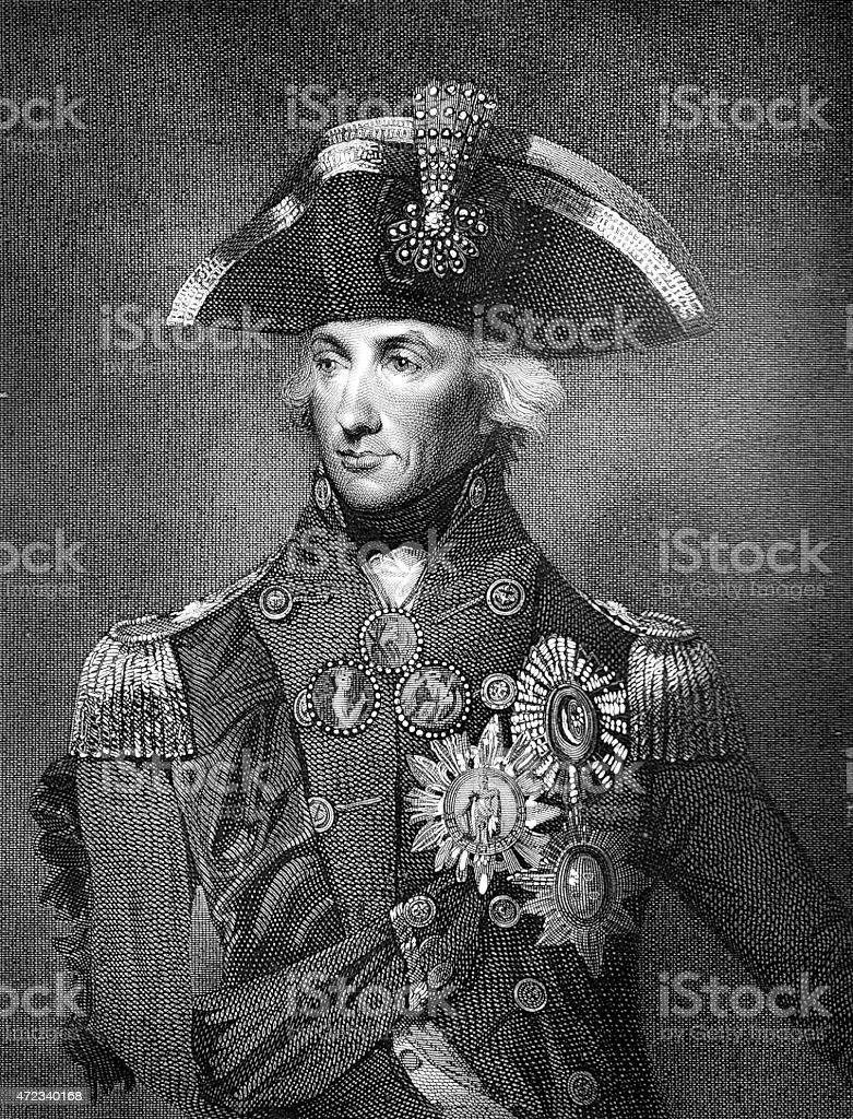 Lord Nelson vector art illustration