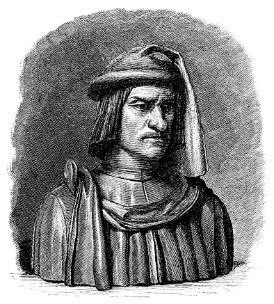 Lorenzo de' Medici ,known as Lorenzo the Magnificent 1 January 1449 – 8 April 1492)[1] was an Italian statesman, de facto ruler of the Florentine Republic and the most powerful and enthusiastic patron of Renaissance culture in Italy