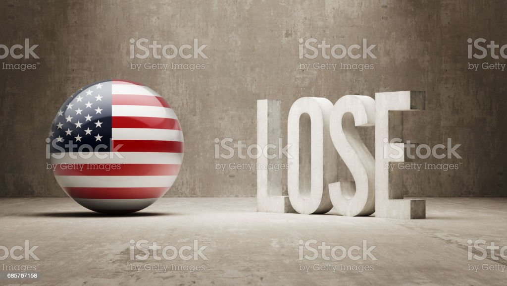 Lose Concept royalty-free lose concept stock vector art & more images of american flag