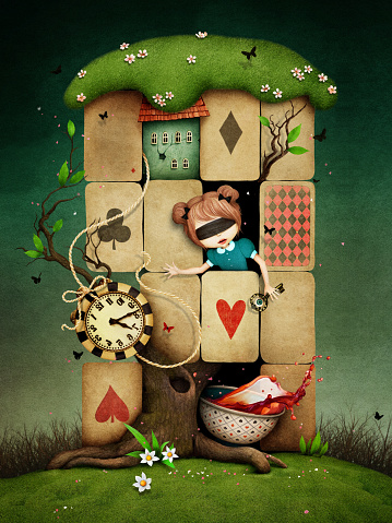 Lost in  cards