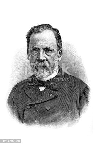 Illustration of a Louis Pasteur (December 27, 1822 – September 28, 1895) was a French biologist, microbiologist and chemist renowned for his discoveries of the principles of vaccination, microbial fermentation and pasteurization
