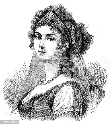 Illustration of a Louise, Queen of Prussia (1776-1810)