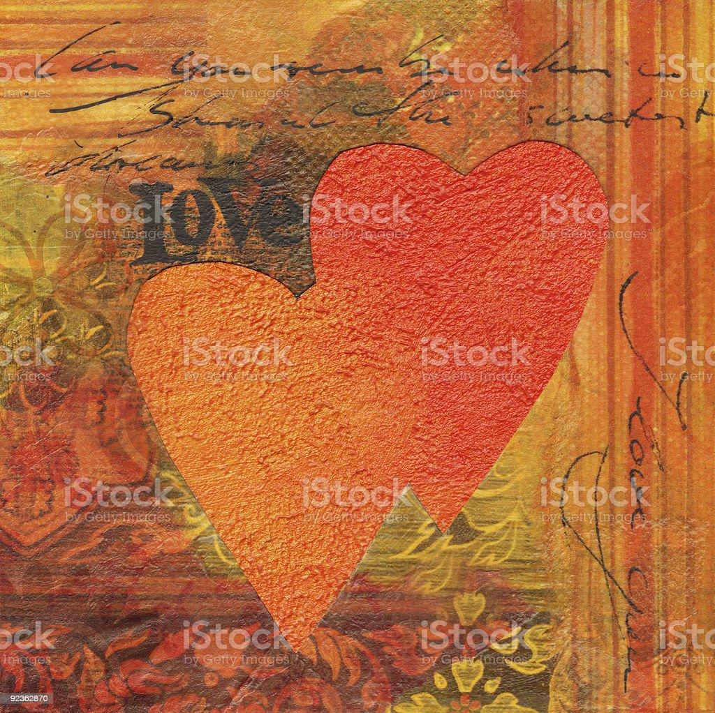 Liebe-Collage Lizenzfreies liebecollage stock vektor art und mehr bilder von farbbild