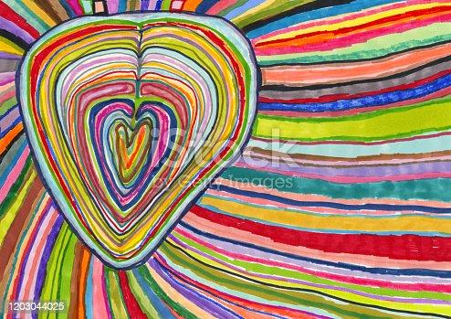 istock Love, emotion, heart burst 1203044025