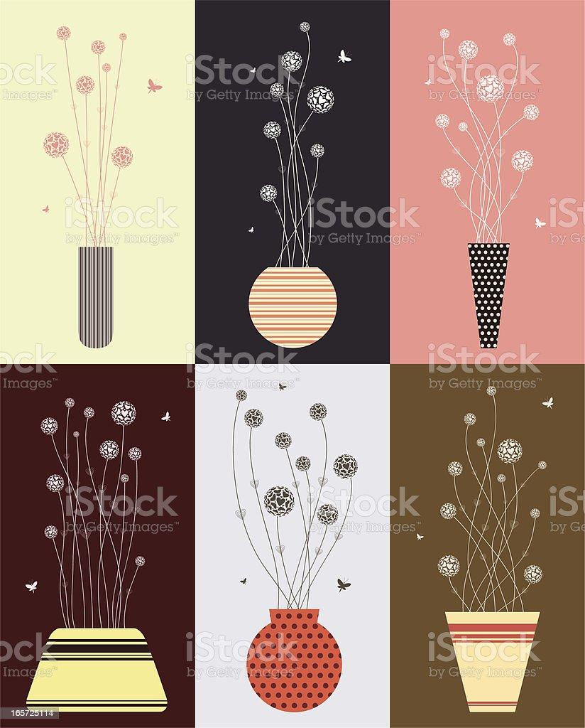 Love Flowers royalty-free stock vector art